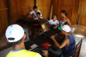 Telecentro da Comunidade de Muratuba - Foto Paulo Lima