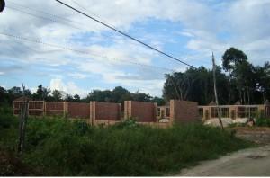 Construção da nova escola