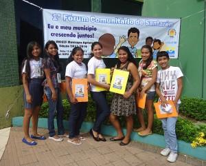 Jovens Agentes Comunitários da Resex Tapajós-Arapiuns