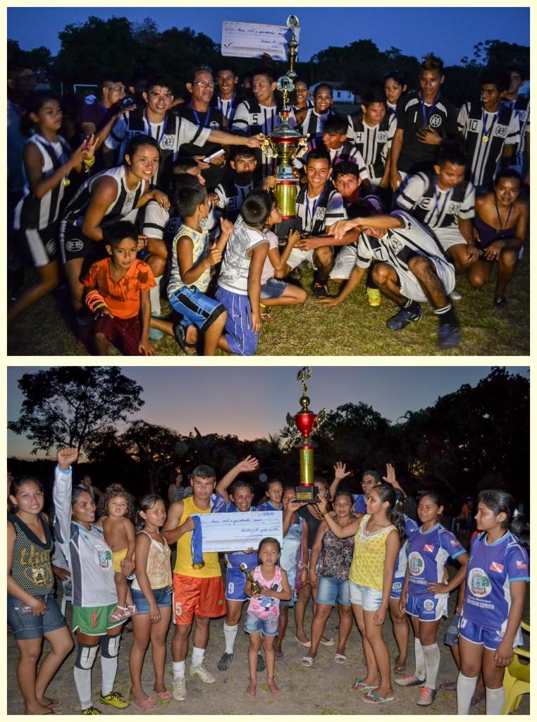 Suruacá feminino e Tucumã masculino foram os campeões da Copa Floresta Ativa 2014